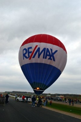 ReMax balloon getting ready