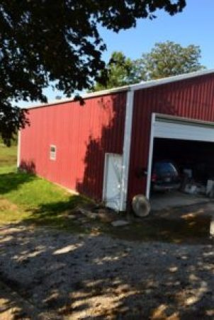 big garage side