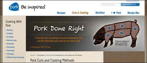 pork cuts and cooking tips