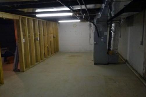 basement west end swept