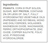 jif rf creamy peanut butter ingredients