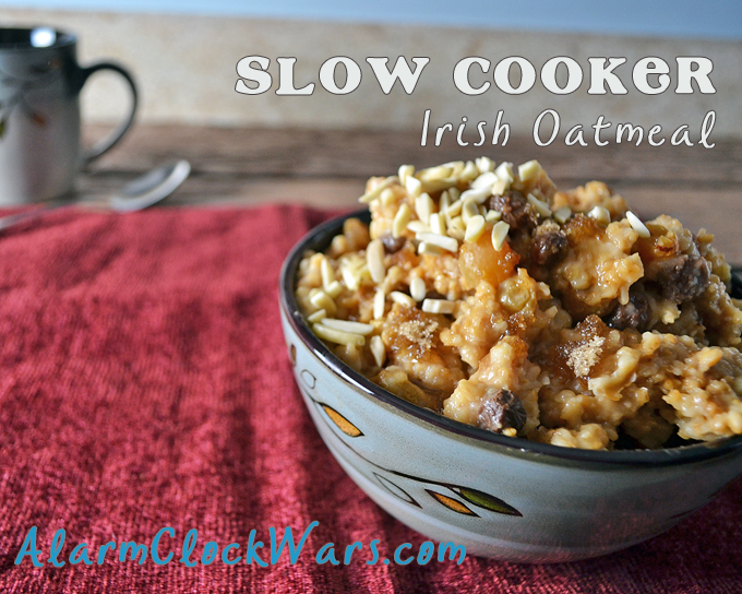 I love waking up to a hot breakfast. Cooking steel cut oats in your slow cooker is a great way to have hot, tasty oatmeal ready as soon as you get out of bed!