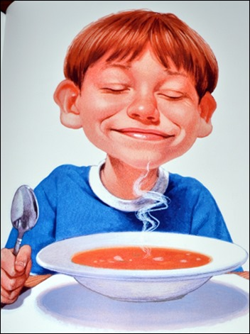Who Grew My Soup its delicious