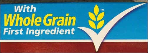 whole grain first ingredient
