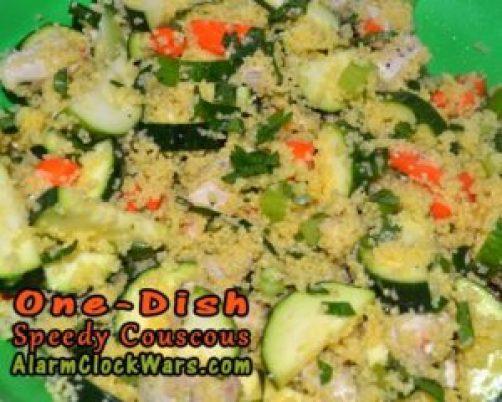 one dish speedy couscous