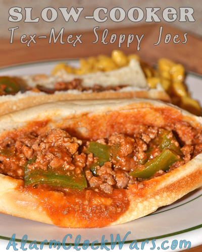 slow-cooker tex-mex sloppy joes