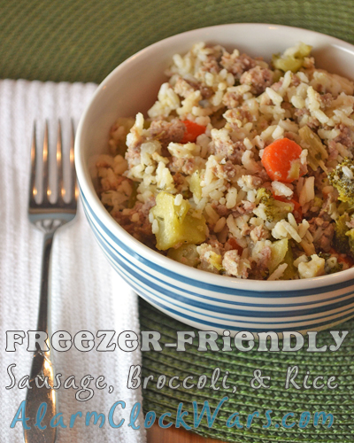 Broccoli Rice And Sausage Dinner Recipe: Freezer-Friendly Sausage, Broccoli, And Rice