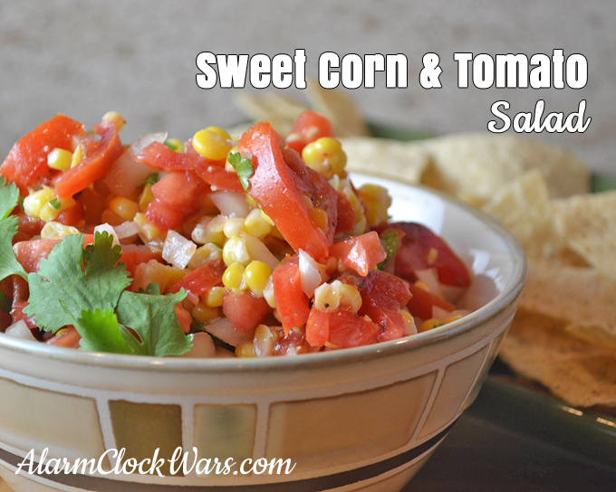 This Sweet Corn and Tomato Salad is a wonderful cold salad, packed ...