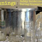 Canning: Safety Guidelines during Processing