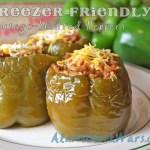 Freezer-Friendly Sausage-Stuffed Peppers