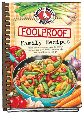 Foolproof Family Recipes cookbook giveaway