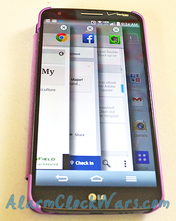 the LG G2 helps you multitask