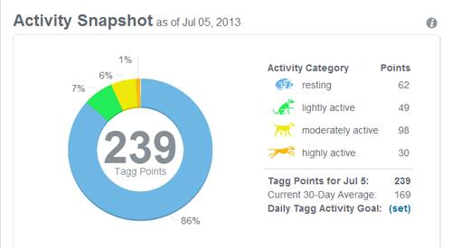 activity snapshot July 5
