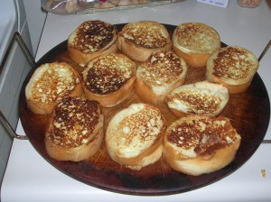 bake French toast in the oven