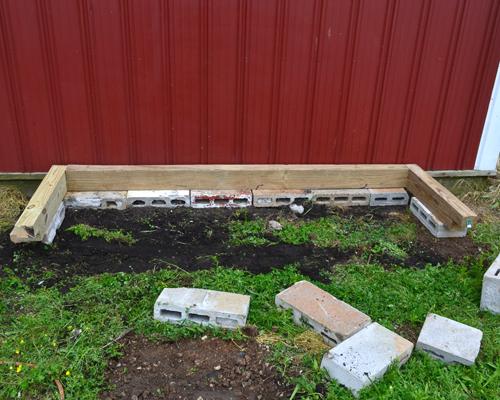 herb garden frame sides