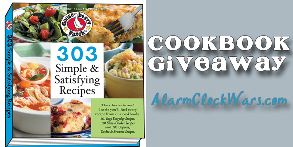 303 Simple & Satisfying Recipes giveaway
