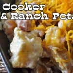 Slow Cooker Ham & Ranch Potatoes