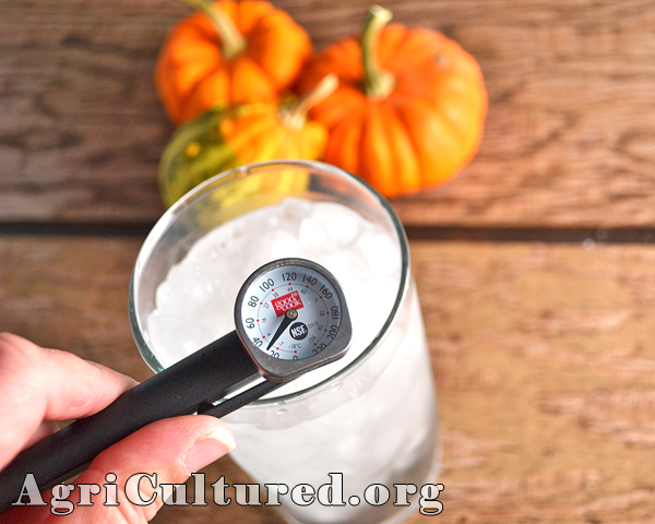you can adjust your thermometer's temperature reading until it is calibrated