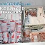 Organized freezers