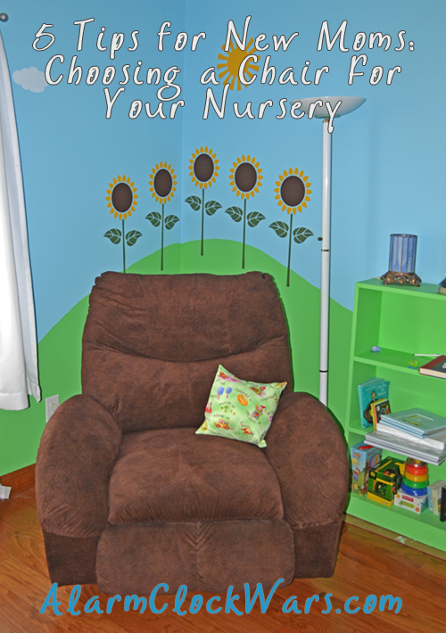 Choosing a chair for your nursery can be a very big decision. Check out these 5 tips to help pick the perfect chair for your growing family.