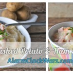 Mashed Potato and Ham Soup