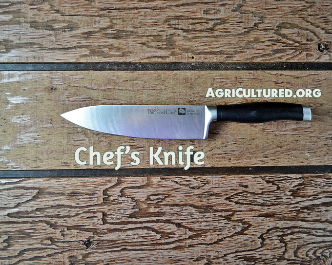 Your chef's knife should be the workhorse in your kitchen.