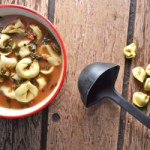 Slow Cooker Tomato-Tortellini Soup