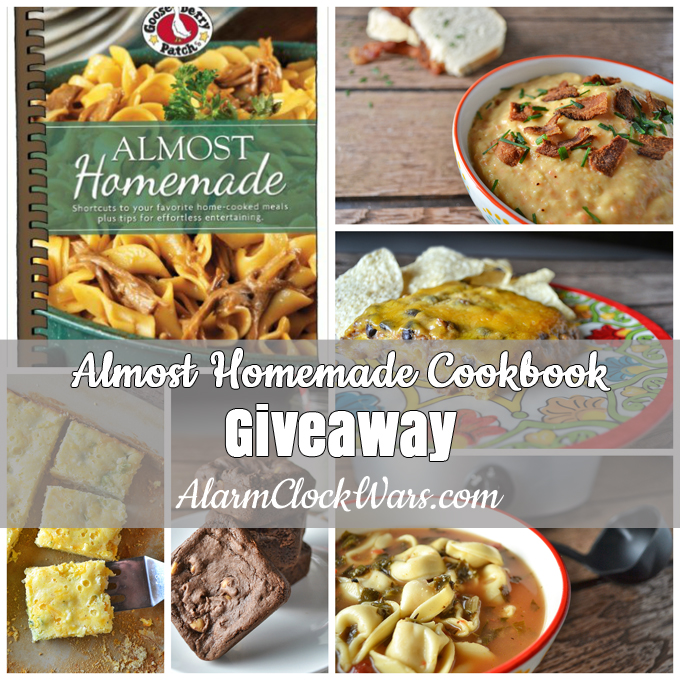 "Do you need some shortcuts for the kitchen? Gooseberry Patch's ""Almost Homemade"" cookbook is packed with plenty of recipes that are ""almost"" home-cooked! Find some tips, tricks, and shortcuts that will have your family think you slaved for hours in the kitchen... and enter for your chance to win a copy of this cookbook!"