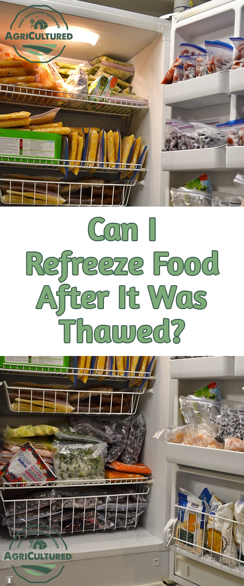 Can I Refreeze Food After It Was Thawed? Did you get more food out of your freezer than you can use? Are you wondering if you can safely refreeze it? Wonder no more! Find out here.