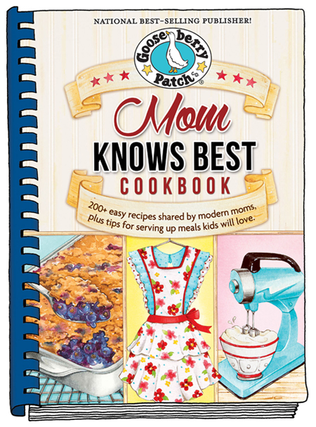 Mom Knows Best cookbook from Gooseberry Patch