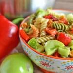 Green Tomato Pasta Salad
