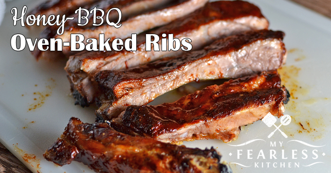 Instant Pot Honey-BBQ Ribs from My Fearless Kitchen. Want some fall-off-the-bone, perfectly tender ribs, but don't have all day to cook them? These Instant Pot Honey-BBQ Ribs are just the thing for those rushed nights. They come out perfectly every time, and everyone will love them!