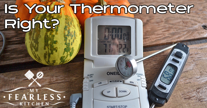 How to Use a Meat Thermometer from My Fearless Kitchen. Meat thermometers are a great tool - they help make dinner a success. Find out the right way to use them, and never have over-cooked chicken again!