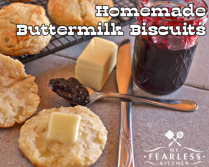 buttermilk biscuits with butter and jelly