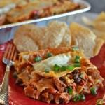 Tex-Mex Turkey Lasagna