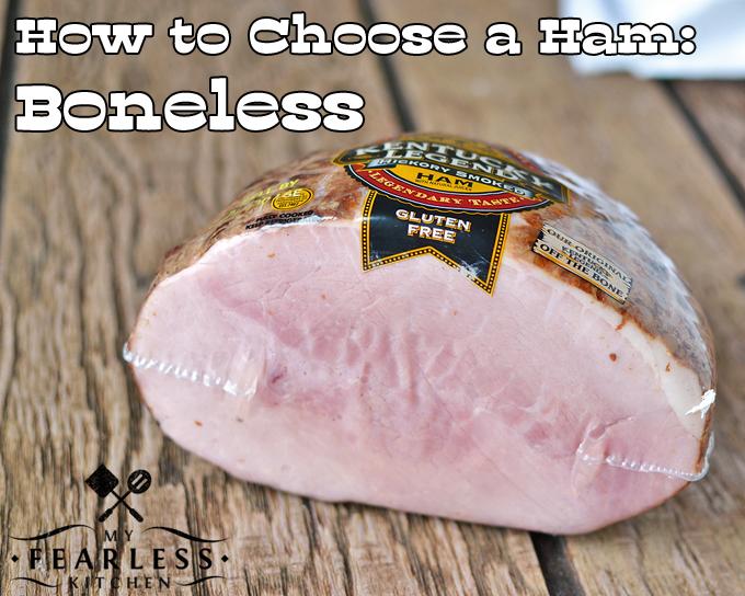 wrapped boneless ham