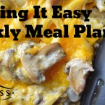 Easy Meal Plan Week #1