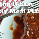 Easy Meal Plan Week #2