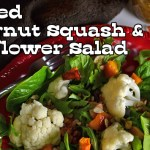 Roasted Butternut Squash and Cauliflower Salad