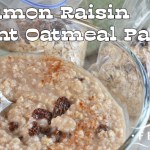 Instant Cinnamon Raisin Oatmeal Packets
