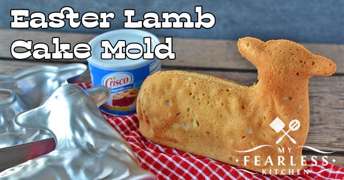 Easter Lamb Cake Mold