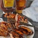 Honey-BBQ Grilled Chicken Thighs