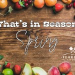 Spring Fruits and Vegetables in Season
