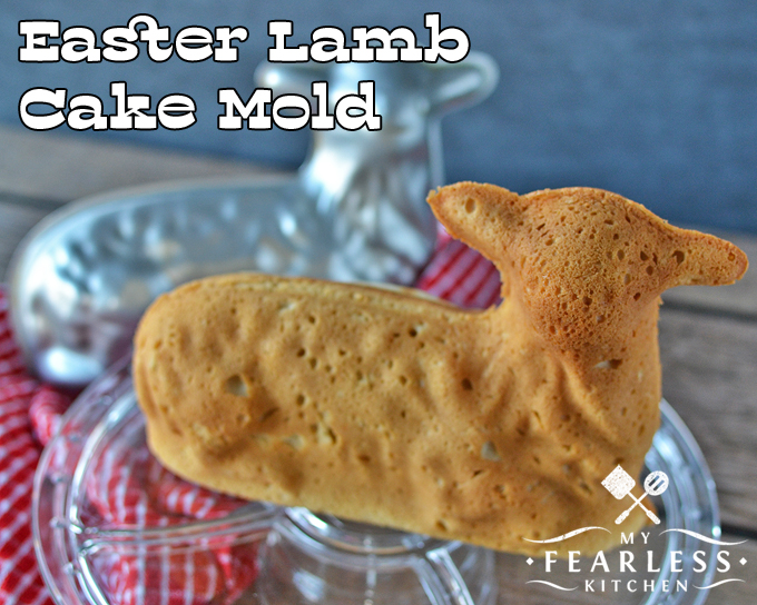 3D stand-up cake mold, spring lamb