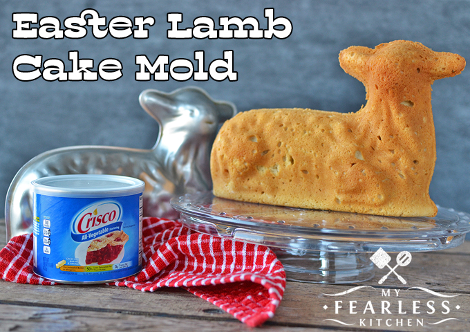 3D stand-up cake mold, spring lamb cake