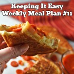 Easy Weekly Meal Plan #11