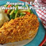 Easy Weekly Meal Plan #9