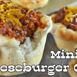 Mini BBQ Cheeseburger Cups