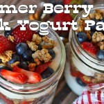 Summer Berry Greek Yogurt Parfait