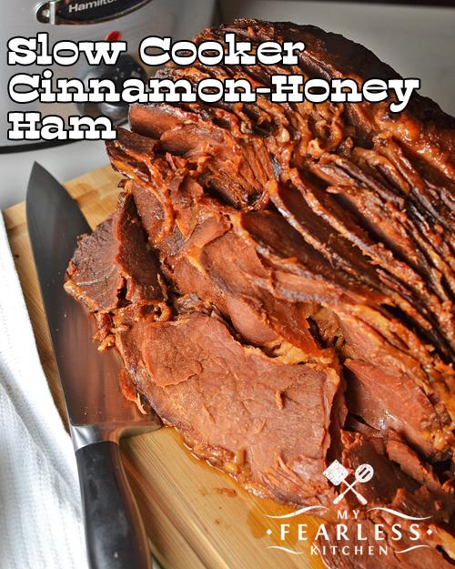 spiral-sliced ham with cinnamon-honey glaze